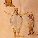 Ballet de los polluelos en sus cáscaras