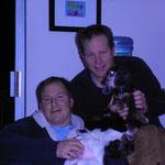 Zu Besuch bei Steve und Rob