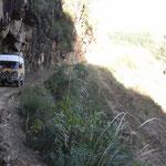 Unterwegs von Cochabamba nach Sucre