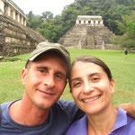 Palenque war traumhaft und hat sogar Roman gefallen... Es waren auch die ersten Mayaruinen!