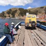 Fährbetrieb auf bolivianisch