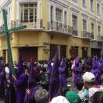 Karfreitagsprozession in Quito