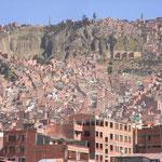 Die Hügel von La Paz