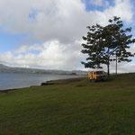 Idylischer Standplatz am Lago de Arenal