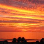 Jamala State Beach Campground: ja, der Sonnenuntergang war wirklich so kitschig schön wie auf dem Foto