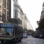 Die Boulevards von Buenos Aires