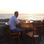 Ach ist das Leben schwer... Sundowner im Café del Mar Cartagena