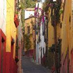 Die Gassen von San Miguel de Allende