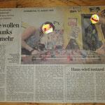 HAZ Bericht vom 12.08.1999