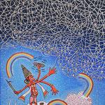 """""""Indras Netz"""", 40 cm , 50 cm, 2016"""