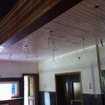 Grundierung auf alter Holzdecke