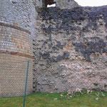 Senlis 11 04 12 Enceinte gallo-romaine vue du Jardin du Roy 4