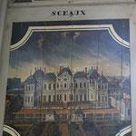 Origine  : Chateau de BUSSY RABUTIN Peinture d'époque