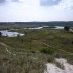 Dünen Landschaft und See