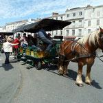 Embarquement pour une promenade à cheval à La Rochelle
