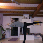 Yoga mit Flöte :-)