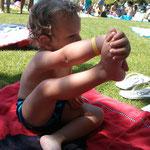 Freiluft Yoga :-)