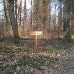 Der Wald hat neue Schilder bekommen :-)