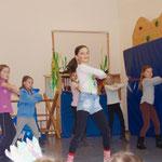 Auftritt der Jazzdancegruppe