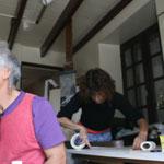 Residenza d'Artista nella casa di Yvonne Jean Haffen a Dinan, Francia, con Carmine Cozza