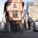 Vitré : Maison de l'Isle, rue de la Poterie.