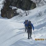 Schneeschuhwandern im Mai am Nassfeld