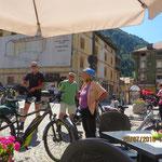 Kaffeepause in Pontebba(Italien)