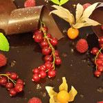 décoration gâteau chocolat