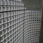 Bild: Glasbausteine-center Glasbausteine-center.de Glasbausteine Glassteine Glass Blocks Glasbaustein Glasstein Treppen Geländer Brüstung Treppenhaus Interior Wandflächen Fassaden Büro Innengestaltung Innenarchitektur Design Art Glazen bouwstenen  Handel