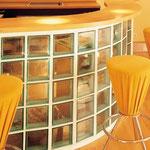 Bild: Glasbausteine-center Glasbausteine-center.de Glasbausteine Glassteine Glass Blocks Glasbaustein Glasstein Küchen Kitchen Kochbereich Einrichtung Zubehör Accessoires