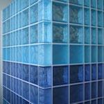 Bild: Glasbausteine-center Glasbausteine-center.de Glasbausteine Glassteine Glass Blocks Glasbaustein Glasstein Interior Wandflächen Fassaden Büro Innengestaltung Innenarchitektur Design Art einrichtung