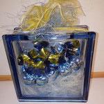Craftblocks Craft Box- Present Gift Glass Blocks Geschenk Glasbaustein Seves Vitrablok Glasbausteine Glassteine Spardose Glas Sparstrumpf Hochzeit Glas Hochzeit Geburtstag Birthday Anniversary Namenstag Jubiläum Haus Glasstein Österreich Schweiz
