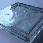 Bild: Lichtschachtabdeckung Lichtschacht-Abdeckungen Glasbausteine Glassteine Betongläser Stahlglasbeton Glasbaustein Glasstein glasbausteine-center glasbausteine-center.de Glassteindecke Solaris betoni lasit beton Lichtschachtabdeckungen