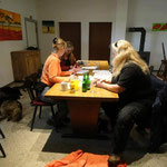 Event-Besprechung im Vereinsheim