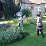 ソットウェル教会のお墓で