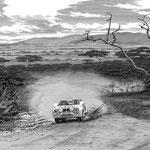 TOYOTA CELICA Twincam Turbo WRCサファリ・ラリー1984年 カレンダー