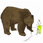 エゾヒグマはでかい 2012.03.19