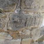 Detail Einritzungen