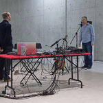 sonic states - duo project with Bojan Vuletic - photo: Maurice Kaufmann