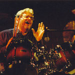 David Moss, american vocalist and drummer - duo partner in the project operetta