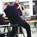 Schulte und Raulf live im Duoprojekt sonargemeinschaft