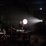 around the fireplace - live - photo. Petra Heymann