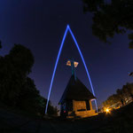 Fortess Hill//: Cetatuia - sound - and light installation at Cluj-Napoca/ Rumania