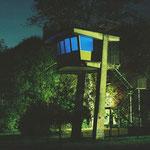 Der Mittler - Licht und Klanginstallation - Lichtpromenade Lippstadt