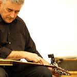FredFrith at the guitar - photo: Luciano Rossetti
