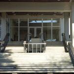 Hotel Belvedere - Treppenaufgang Parkseite