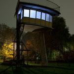 the mediator - sound and light installation - light promenade Lippstadt