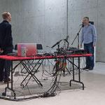 sonic states - musikalisches Duett mit Bojan Vuletic - Photo: Maurice Kaufmann