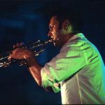 Thomas Heberer, Trompeter hier im Trio SSH live in Polen