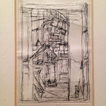 "Alberto Giacometti ""Intérieur au Poêle"""